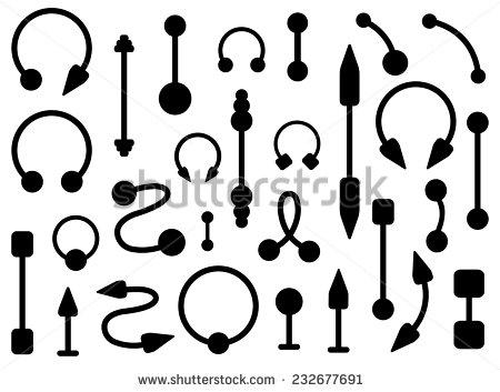 450x353 Ear Piercing Clipart