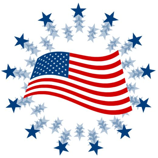 520x520 Free Fourth Of July Clipart Hubpages