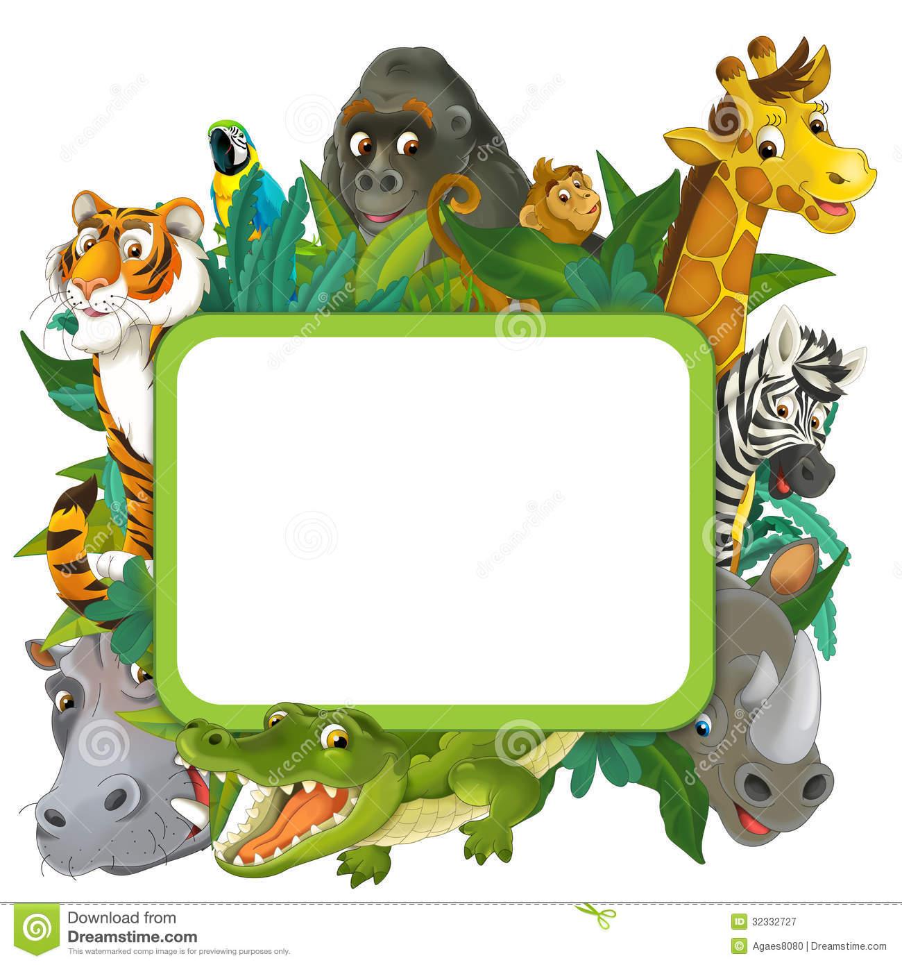 1300x1390 Baby Jungle Borders Clipart
