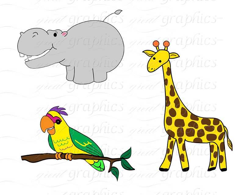 graphic regarding Free Printable Jungle Animals named No cost Jungle Animal Clipart No cost obtain perfect Absolutely free Jungle