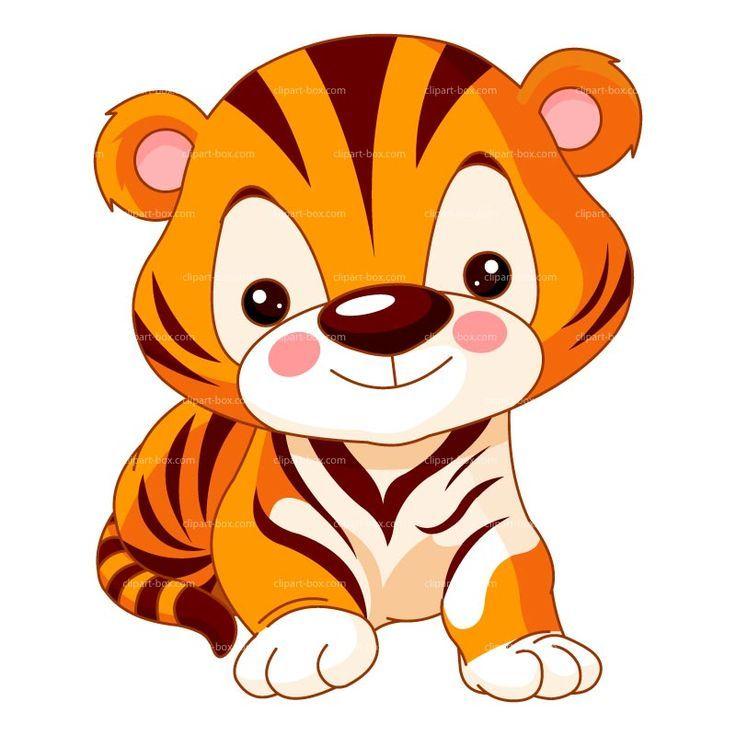 736x736 White Tiger Clipart Jungle Animal
