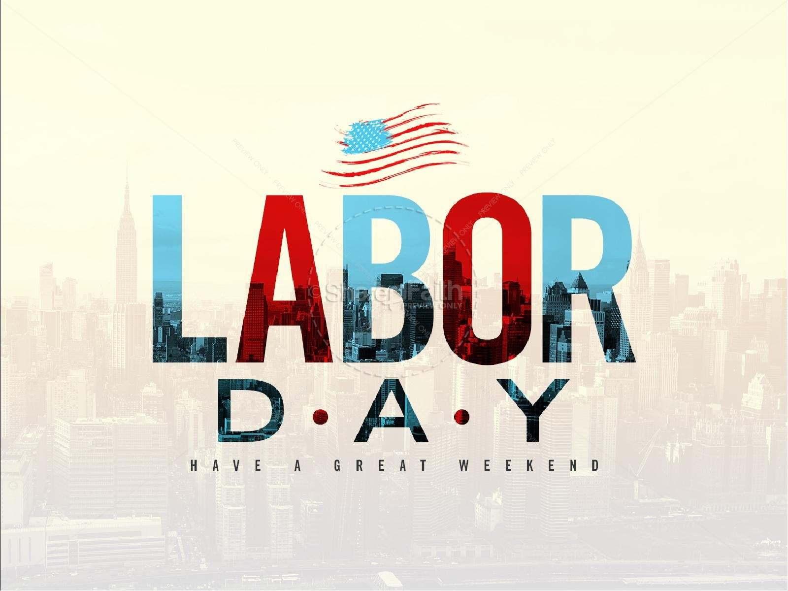 1600x1200 Labor Day Church Powerpoint Template Powerpoint Sermons