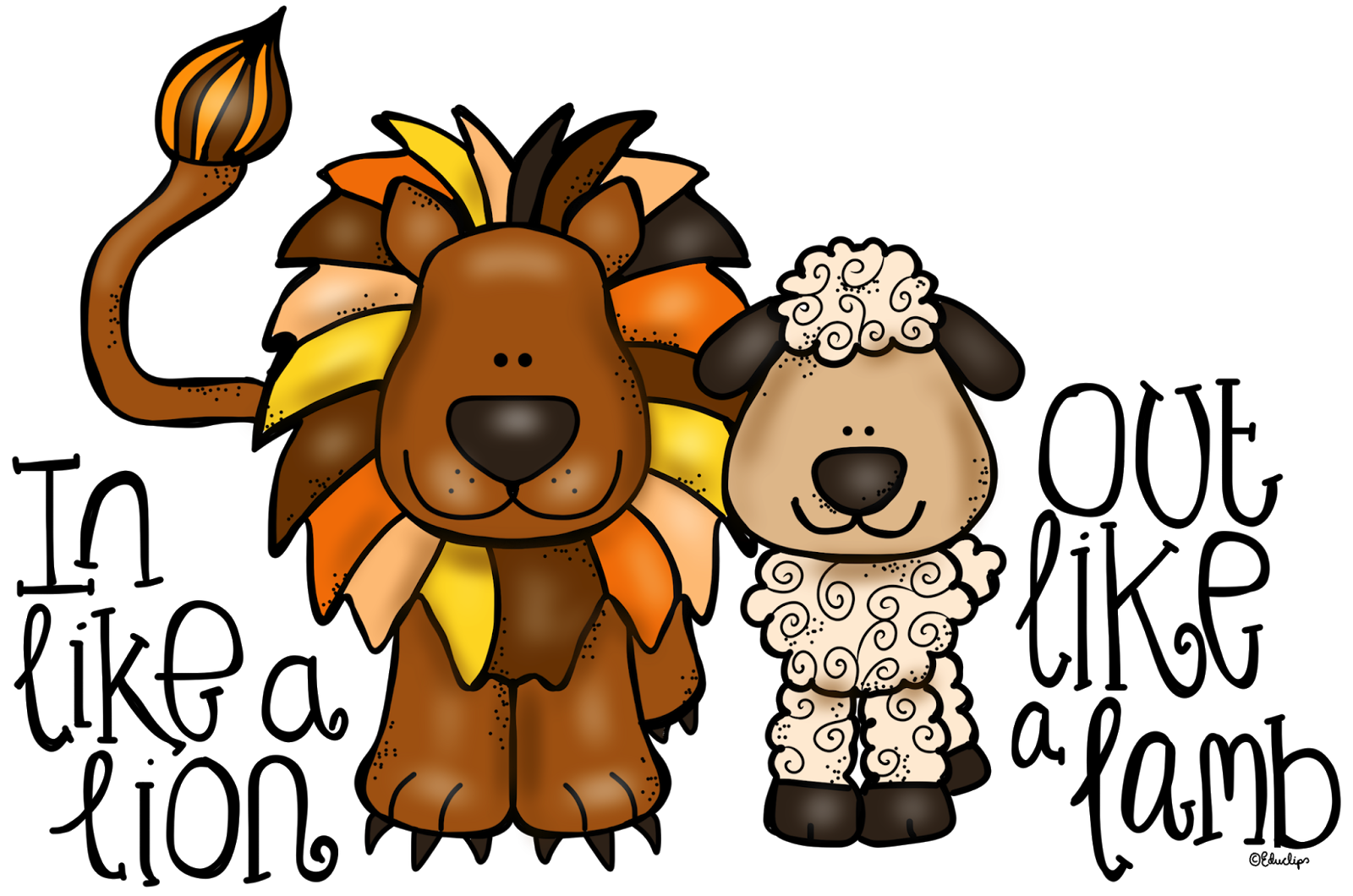 1600x1060 Lamb And Lion Clipart