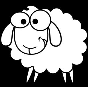 299x297 Sheep Clip Art