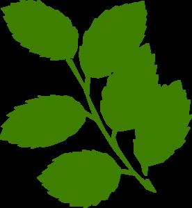 276x299 Green Leaves Clip Art