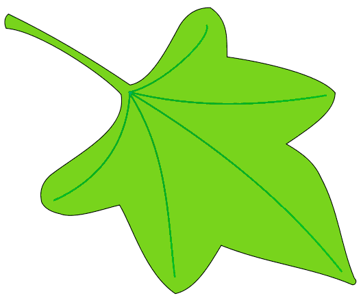 530x439 Leaf Leaves Clip Art Free Vector Image 2