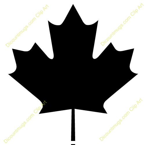 500x500 Maple Leaf Clipart Line Art