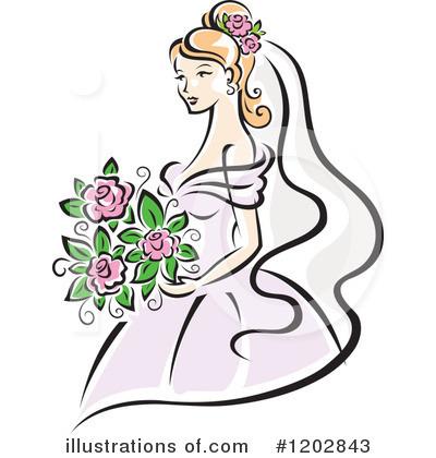 400x420 Bride Clip Art