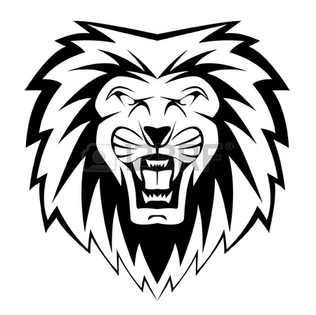 450x449 6,354 Lion Face Cliparts, Stock Vector And Royalty Free Lion Face