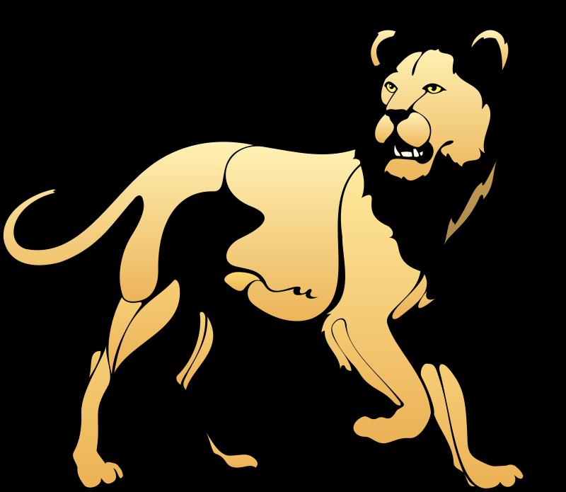 800x695 Lion Clip Art 2