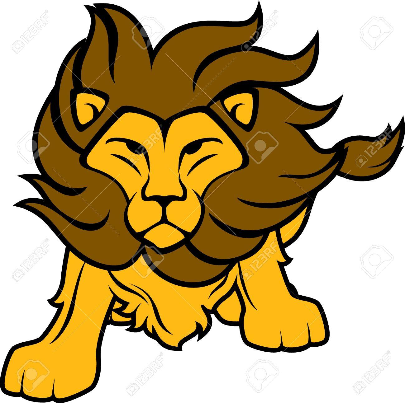 1300x1295 Lion Clipart Easy