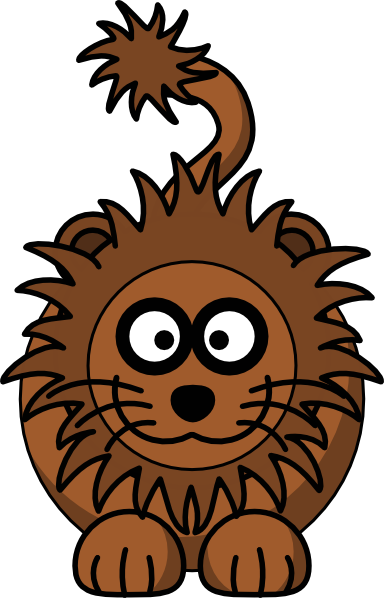 384x598 Cartoon Lion Clip Art Free Vector 4vector