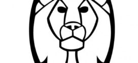 272x125 Lion Head Clip Art