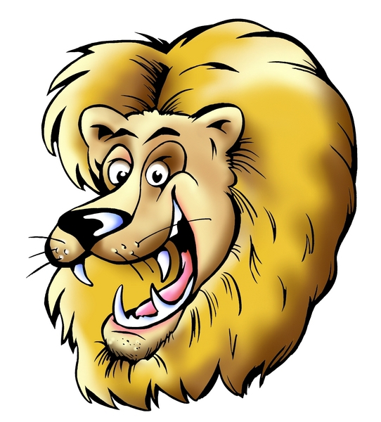 542x600 Best Lion Head Clipart