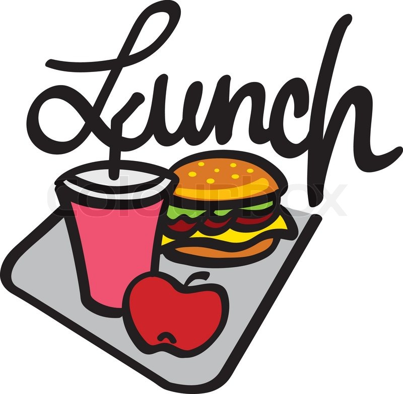 800x783 Clip Art Lunch