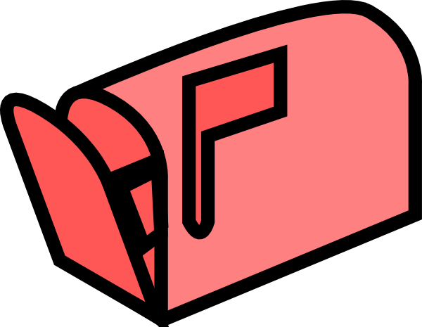 600x465 Mail Box Clip Art