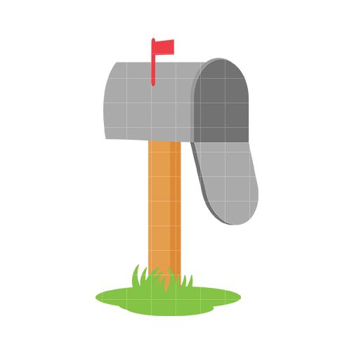 504x504 Mailbox Mail Clip Art Quarter Clipart