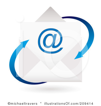 400x420 Email Clipart Royalty Free Email Clipart Illustration