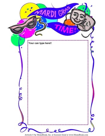 Free Mardi Gras Clipart