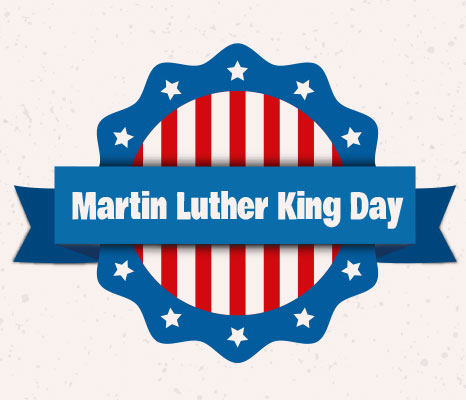 466x400 Holydays Clipart Martin Luther King Jr