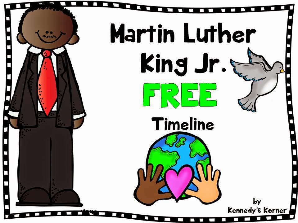 960x720 Kennedy's Korner Martin Luther King Jr. Freebie