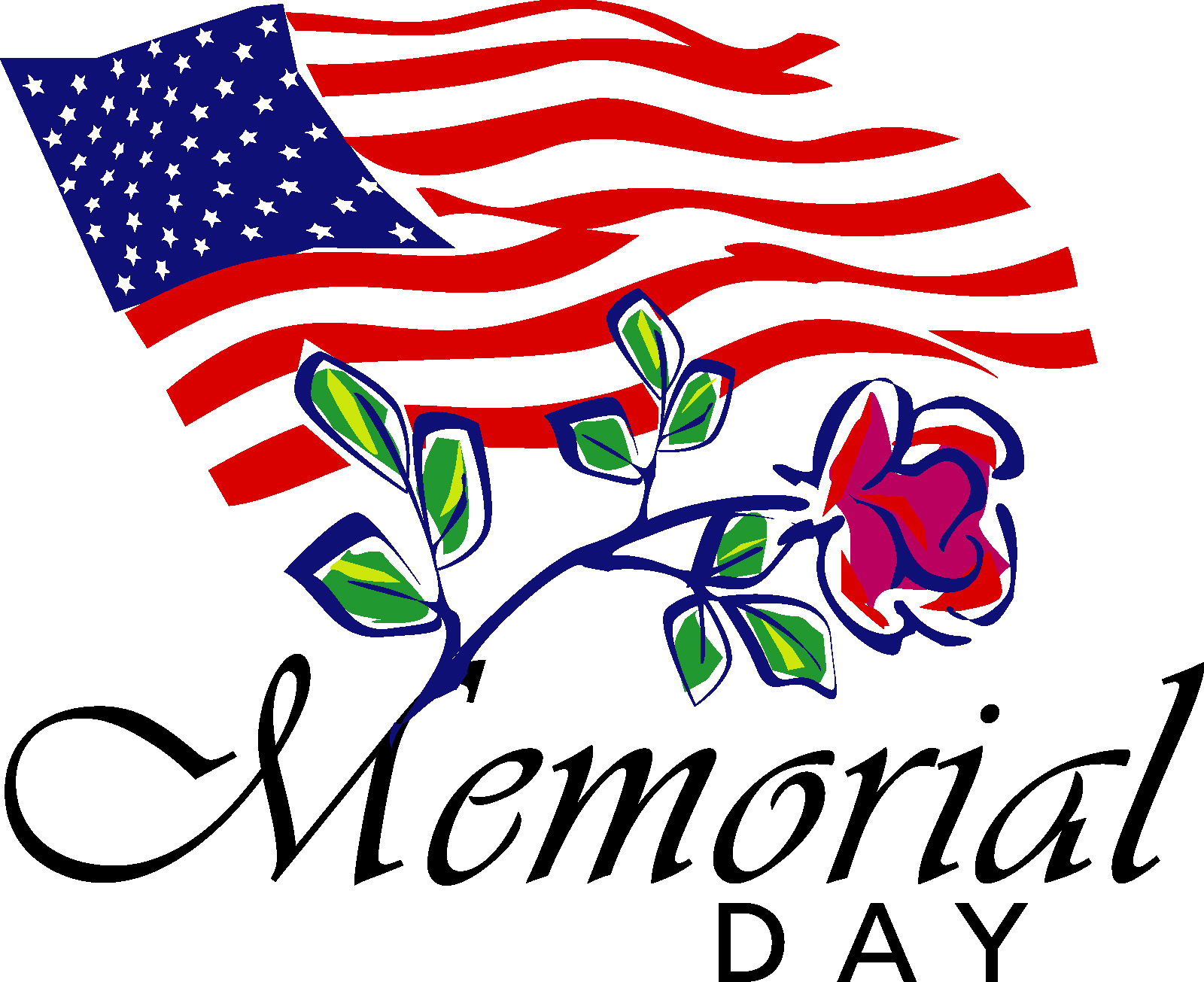 1600x1305 Memorial Day Clip Art