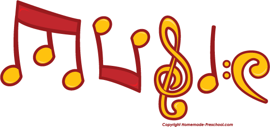 558x262 Free Music Notes Clipart