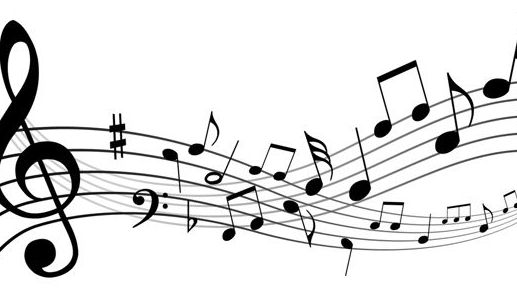 517x290 Free Music Notes Clipart