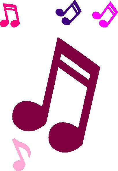 408x592 Music Notes Clip Art