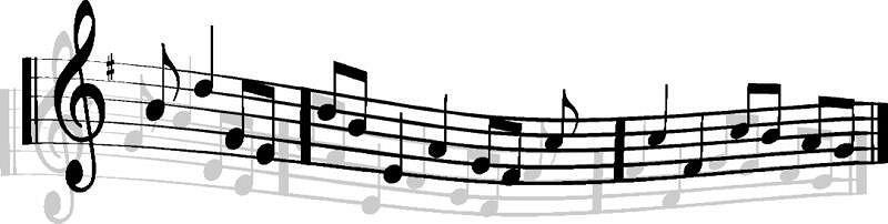 800x202 Music Notes Clipart Clipart Panda