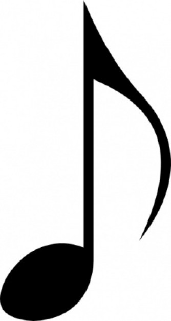 334x626 Different Music Notes