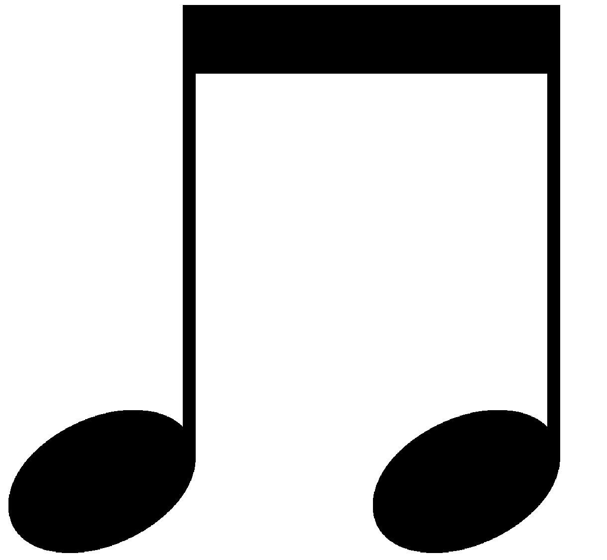 1219x1125 Eighth Note Clip Art Clipart Panda