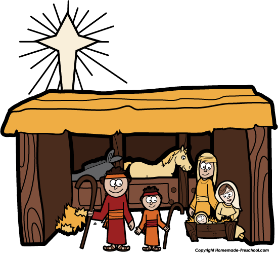 550x499 Free Nativity Clipart Reason for the Season