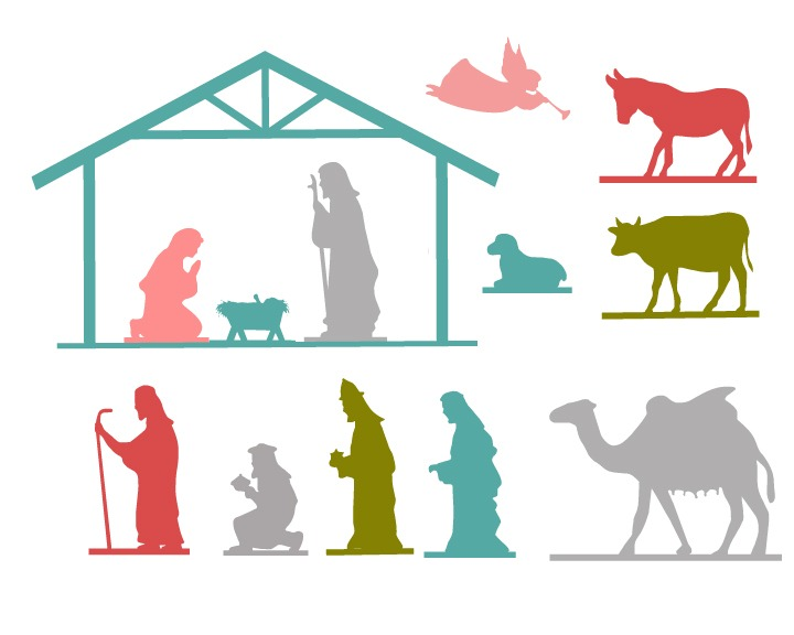 720x576 Nativity Free Printable Thoughts, Free and Holidays