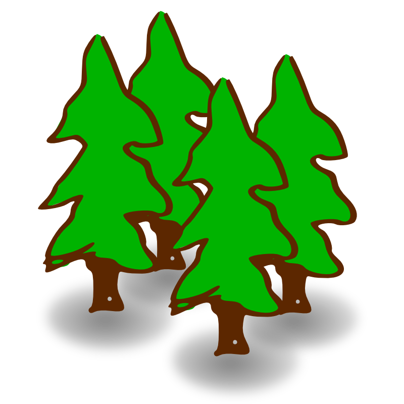 800x800 Nature Clipart Simple Tree