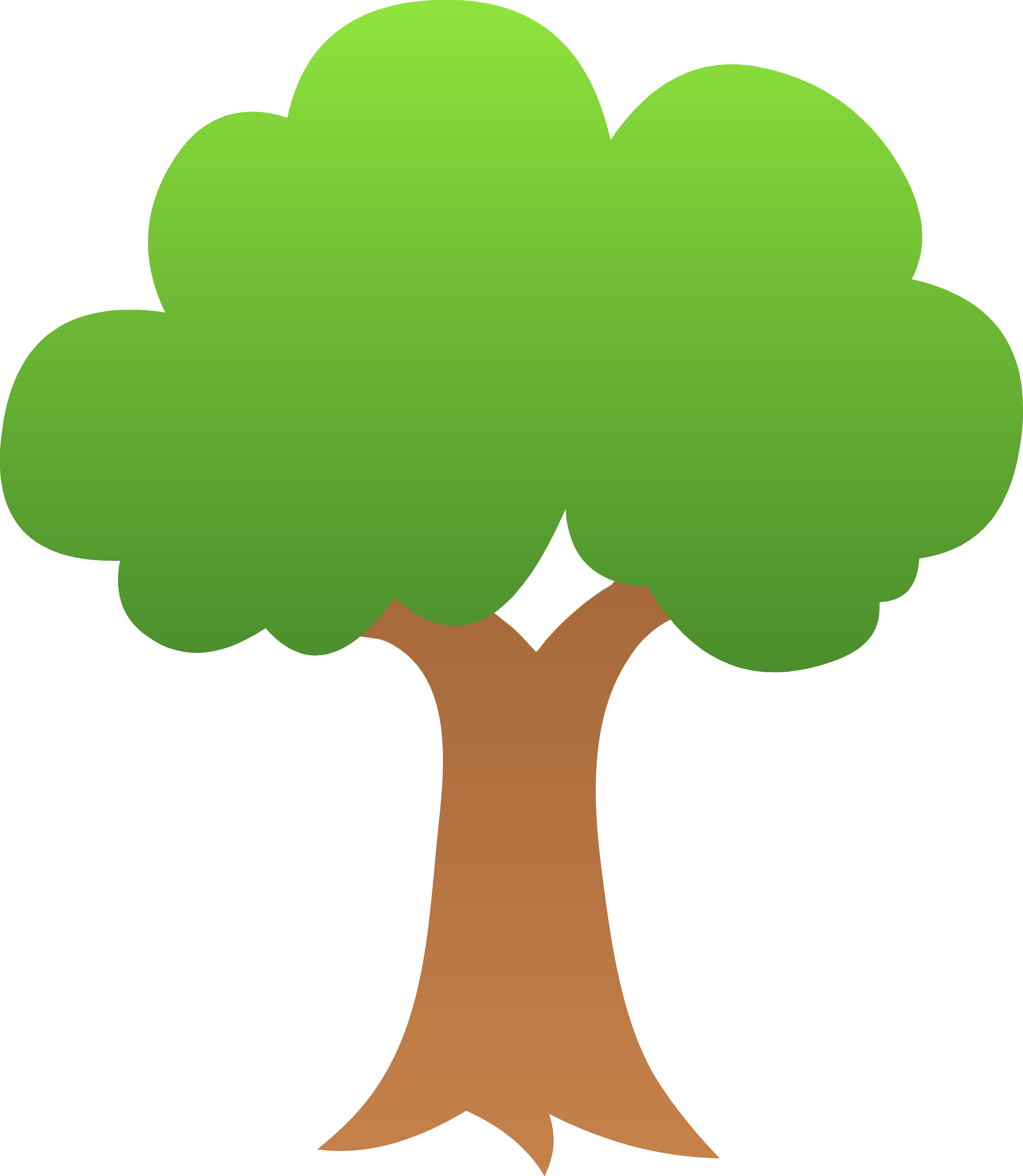 5486x6309 Nature Clipart Tree
