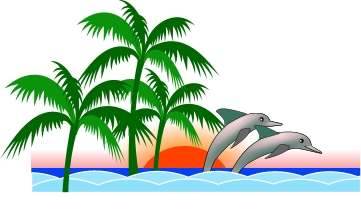 361x212 Brigitte Vector Art Free Clipart Florida Palms Nature Coast