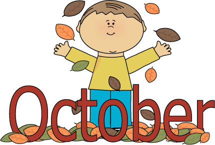 430x289 Month Of October Clipart
