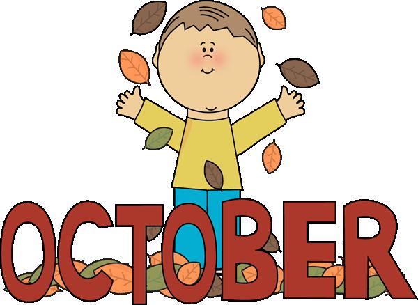 600x438 Autumn October Month Clip Art