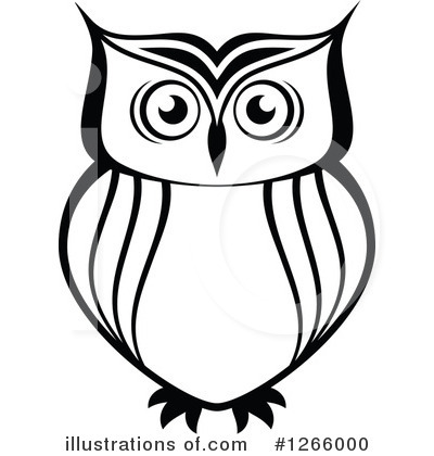 Free Owl Clipart Black And White | Free download on ClipArtMag