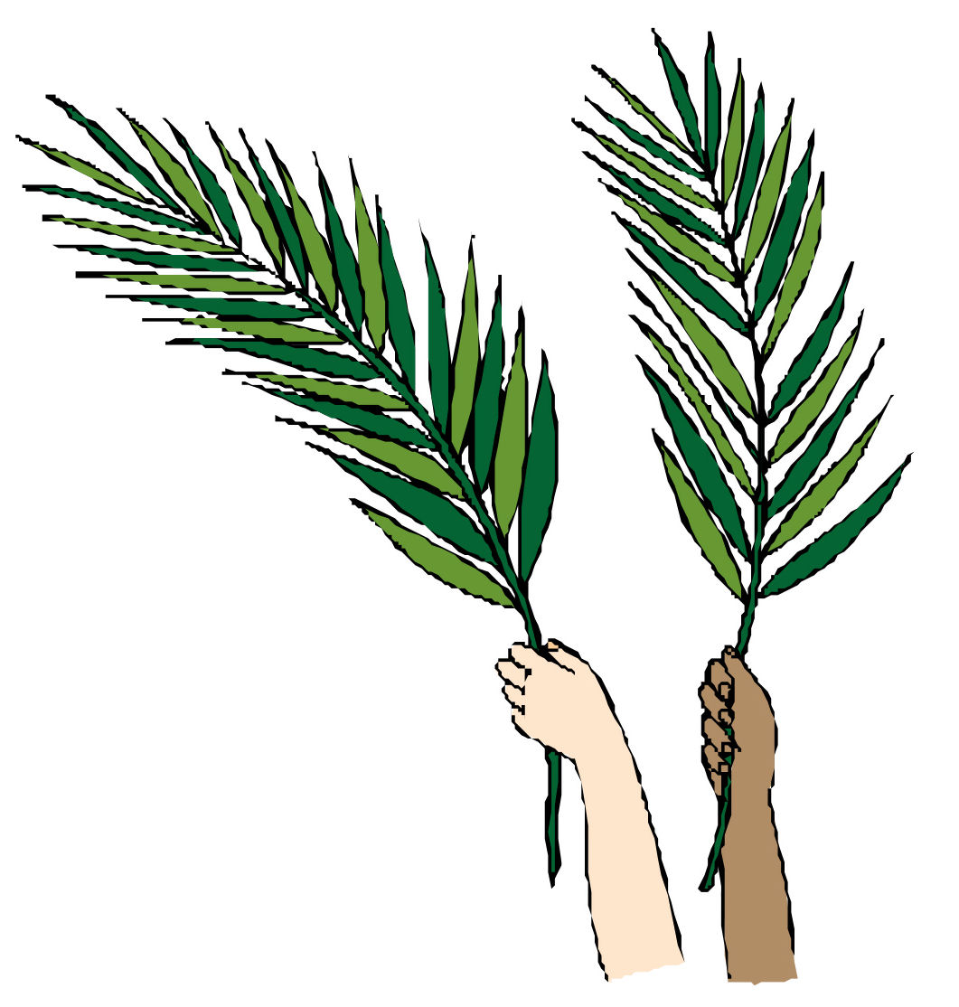 1061x1114 0 Images About Palm Sunday On Sunday Palms Cliparts