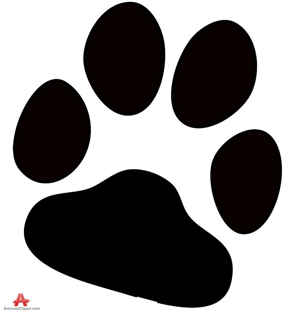 948x999 Dog Paw Prints Paw Prints Bulldog Paw Print Clipart 3 Wikiclipart