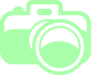 300x246 Green Camera For Photography Logo Clip Art