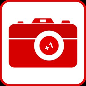 300x300 Red Camera Symbol Clip Art