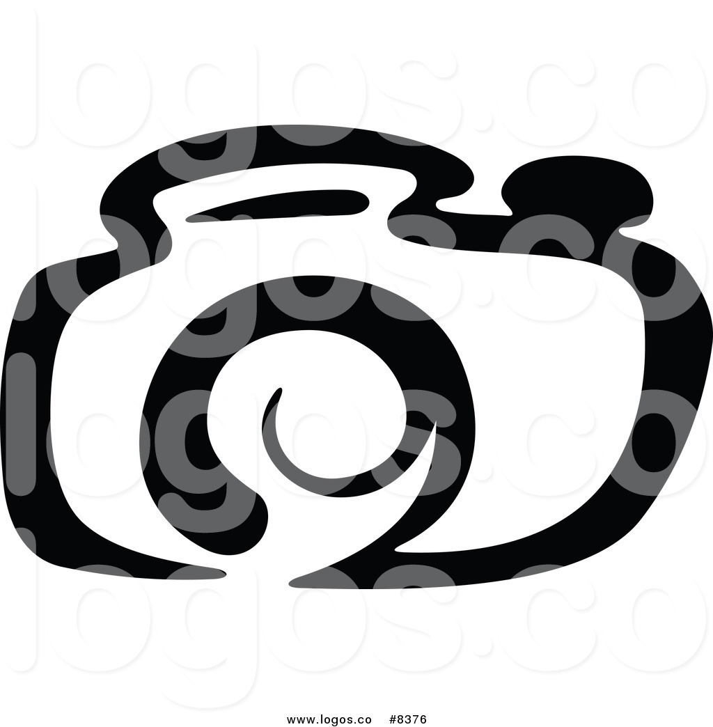 1024x1044 Royalty Free Clip Art Vector Logo Of A Black And White Camera By