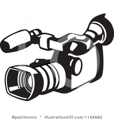 400x420 Video Camera Clip Art