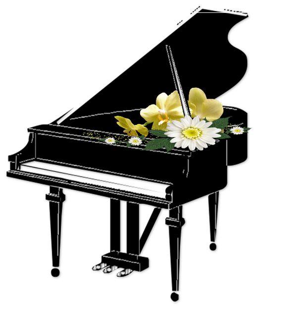 Free Piano Clipart