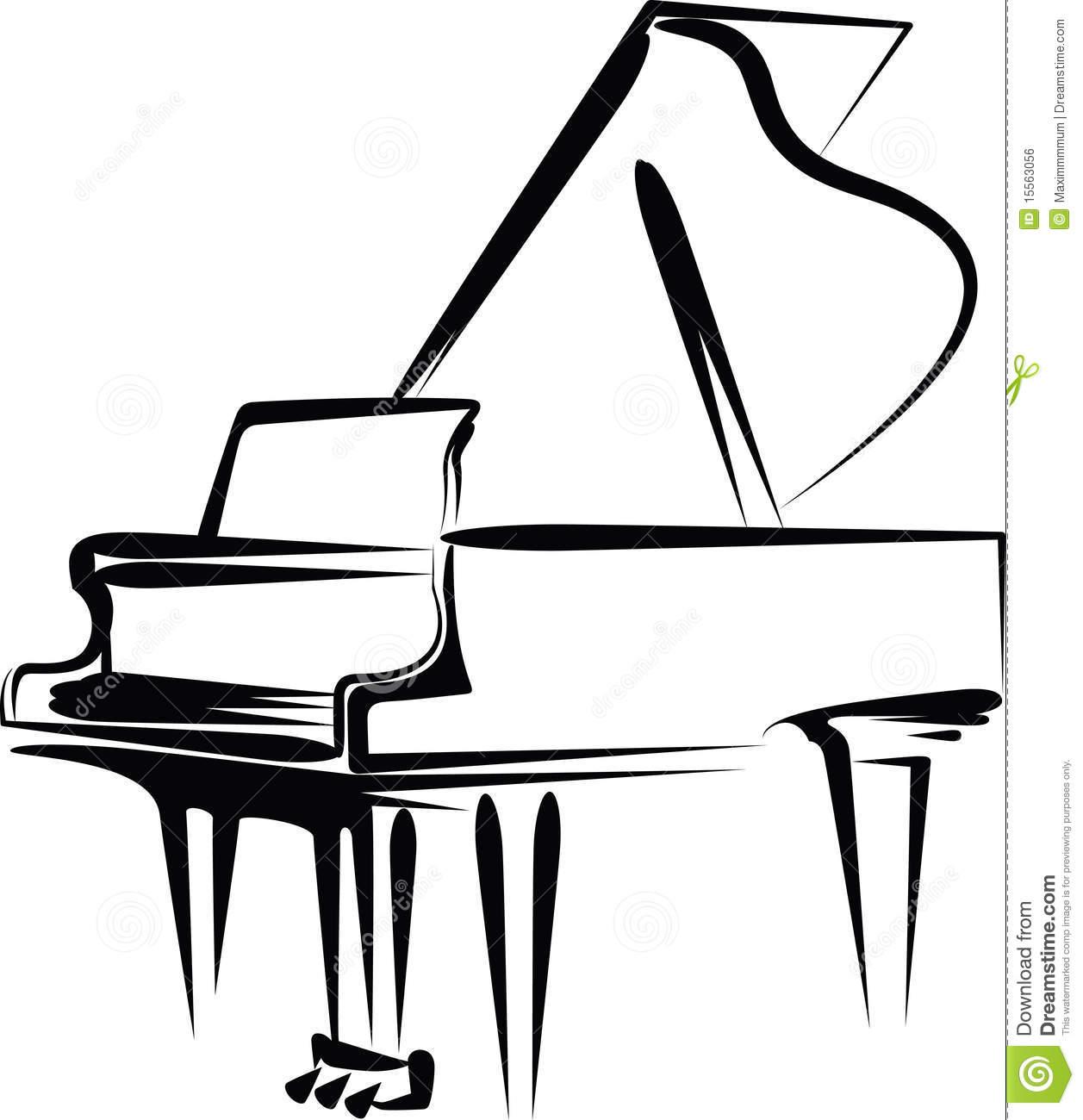 1257x1300 Free Piano Clipart Black And White
