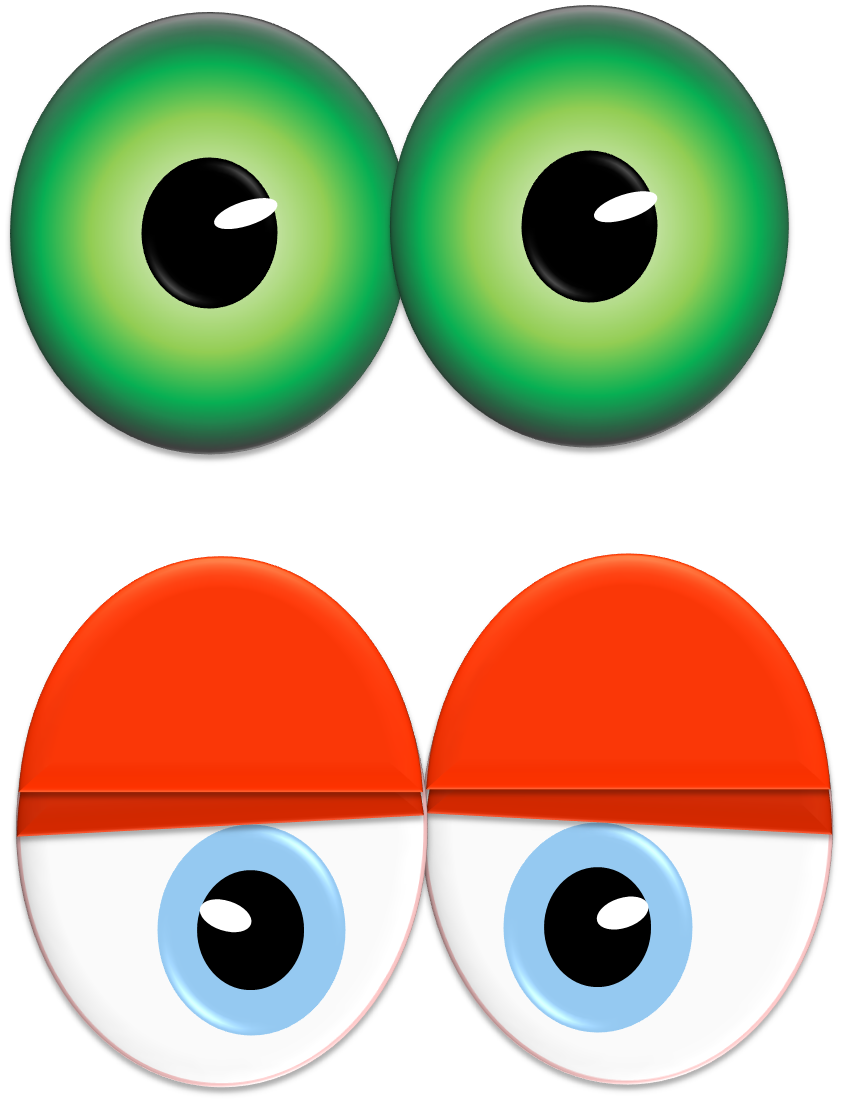 846x1101 Blue Eyes Clipart Excited Eye