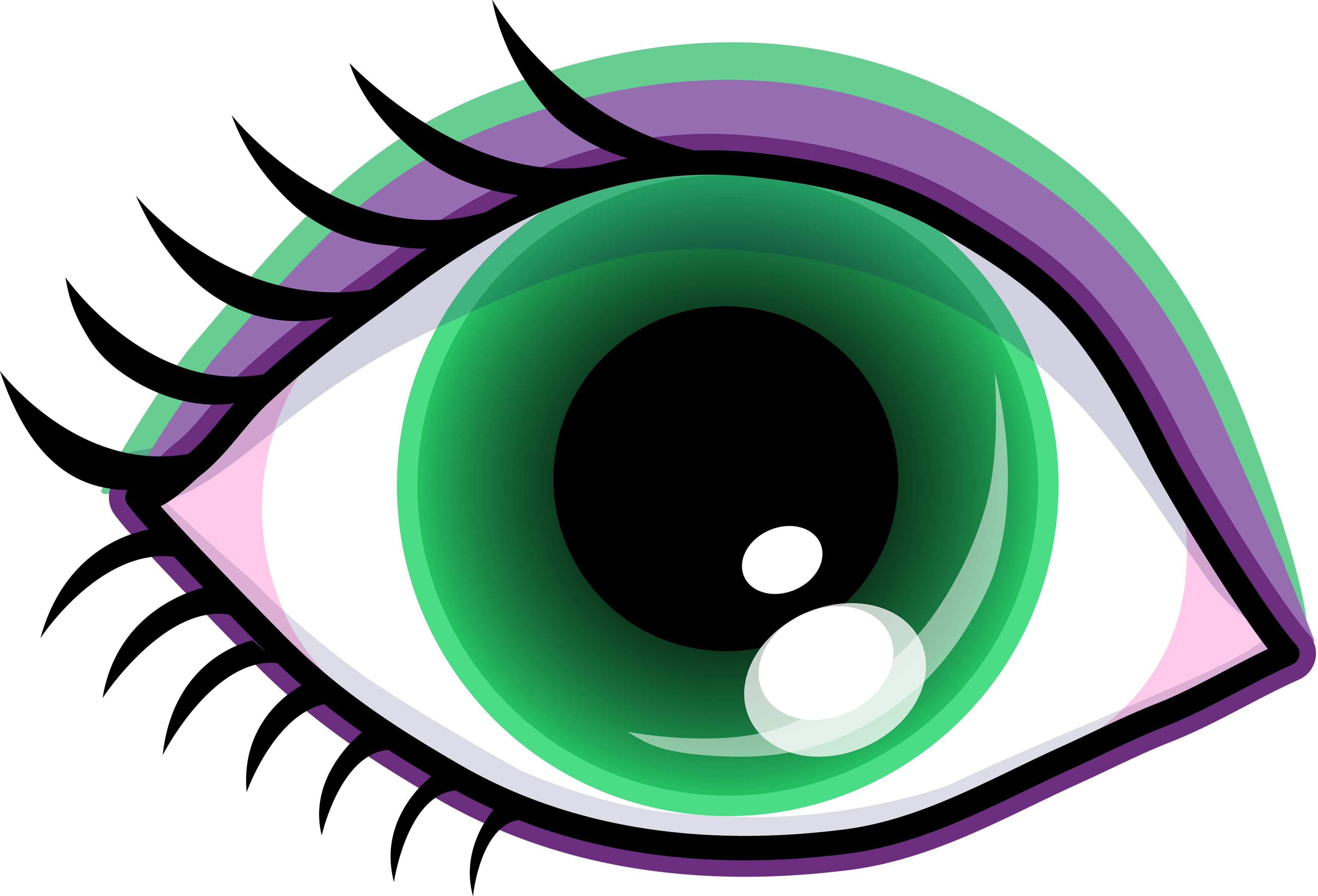 3500x2379 Eyes Eye Clip Art Black And White Free Clipart Images 7
